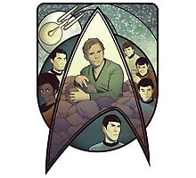Star Trek Art Nouveau Photographic Print