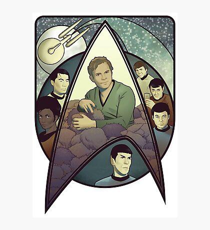Star Trek Art Nouveau Photographic Print