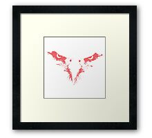 The Red Eagle Framed Print