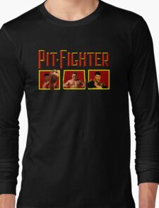 PIT FIGHTER CLASSIC ARCADE GAME Long Sleeve T-Shirt