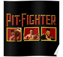 PIT FIGHTER CLASSIC ARCADE GAME Poster