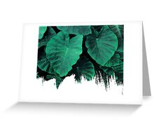 Painting on Jungle Greeting Card