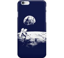 Astronaut zen garden iPhone Case/Skin
