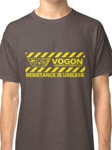 Vogon Contstructor Fleet Classic T-Shirt