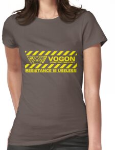 Vogon Contstructor Fleet Womens Fitted T-Shirt