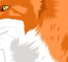 Fox profile Sticker