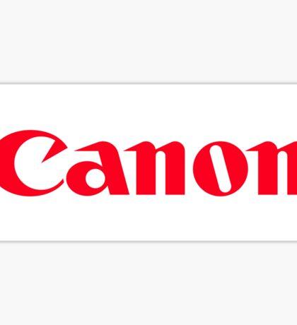 Canon logo Sticker