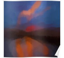Color Abstraction LXIII SQ Poster