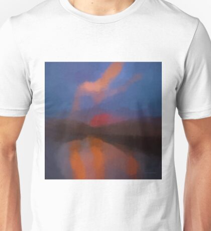 Color Abstraction LXIII SQ Unisex T-Shirt