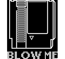 Blow Me (Video Game Cartridge) Photographic Print