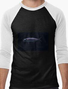Natural History Fish Histoire naturelle des poissons Georges V1 V2 Cuvier 1849 006 Inverted Men's Baseball ¾ T-Shirt