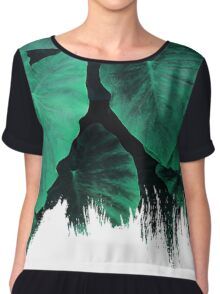 Painting on Jungle Chiffon Top