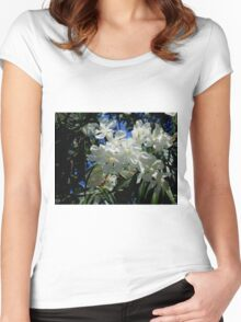Budding Blossoms Women's Fitted Scoop T-Shirt
