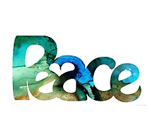 Peace Full 13 Photographic Print