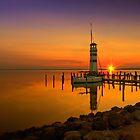 Podersdorf Sunset by Delfino