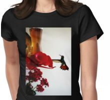 Hummingbird In Tulua, Colombia Womens Fitted T-Shirt