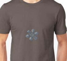 Snowflake photo - High voltage Unisex T-Shirt