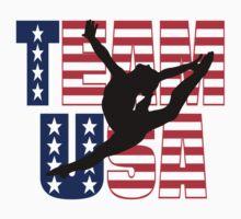 Team USA Gymnastics Kids Tee