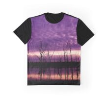 Purple Lake Graphic T-Shirt