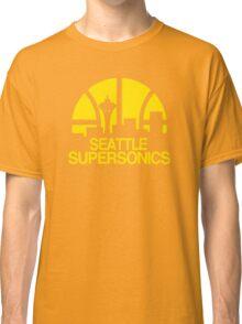 SEATTLE SUPERSONICS BASKETBALL RETRO Classic T-Shirt