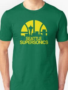 SEATTLE SUPERSONICS BASKETBALL RETRO Unisex T-Shirt