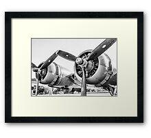 Vintage Plane Framed Print