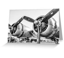 Vintage Plane Greeting Card