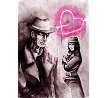 Valentine's Investigations Photographic Print