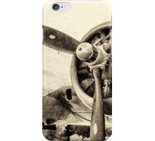 Vintage WWII Plane  iPhone Case/Skin