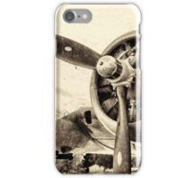 Vintage WWII Plane  iPhone Case/Skin