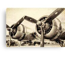 Vintage WWII Plane  Canvas Print