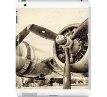 Vintage WWII Plane  iPad Case/Skin