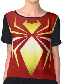 Iron Spider Chiffon Top