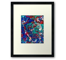 Abstract Artwork by Laura L. Leatherwood Framed Print