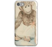 Boris Mikhailovich Kustodiev  THE TOY MONKEY iPhone Case/Skin