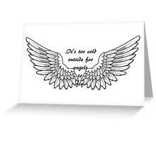 Ed Sheeran A Team lyrics Greeting Card