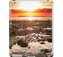 red reflections at rocky beal beach iPad Case/Skin