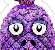 Funny Fruit Face Head Character Sticker