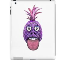 Funny Fruit Face Head Character iPad Case/Skin