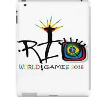 rio olympics  iPad Case/Skin