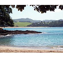 Whale Bay, New Zealand Photographic Print