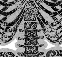 Swirly Bones Sticker