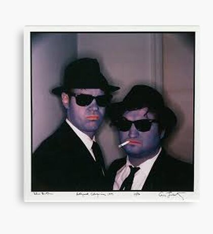 Blues Brothers by Annie Leibovitz Canvas Print