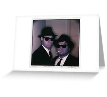 Blues Brothers by Annie Leibovitz Greeting Card