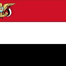 Yemen Flag Stickers by Mark Podger