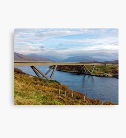 Kylesku Bridge Canvas Print