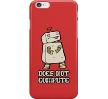 Does Not Compute iPhone Case/Skin