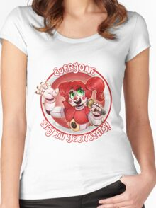 Stay In Your Seats - Baby FNAF-SL Women's Fitted Scoop T-Shirt