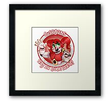 Stay In Your Seats - Baby FNAF-SL Framed Print