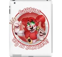 Stay In Your Seats - Baby FNAF-SL iPad Case/Skin
